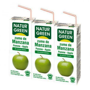 Zumo de manzana mini  eco