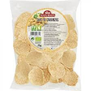 Chips de garbanzo eco