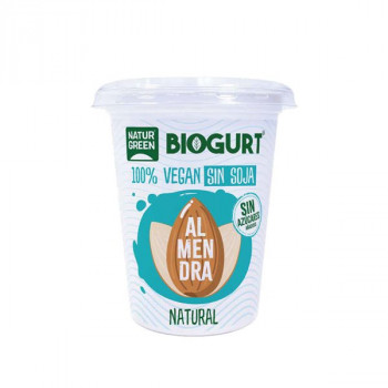 Yogurt de almendra-eco